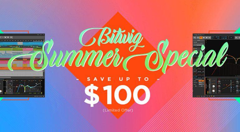 Deal: Bitwig Summer Sale Special - 80 Euro Rabatt auf Bitwig Studio