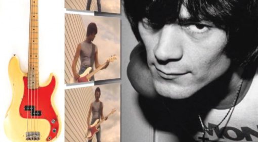 Dee Dee Ramone Fender Precision Number 1 Bass Front Teaser
