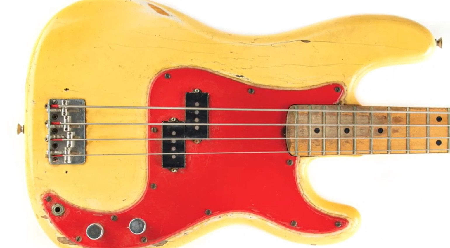 Dee Dee Ramone Fender Precision Number 1 Bass Front
