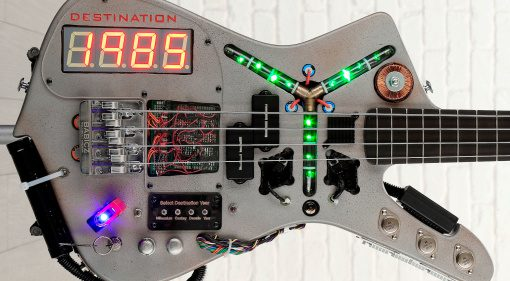 Doner Designs Time MAchine Bass Back To The Future Front
