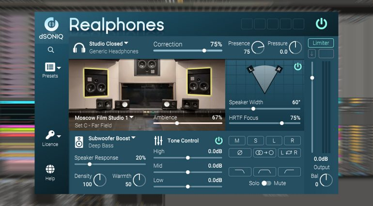 dSONIQ Realphones: einfacher mixen mit Kopfhörern