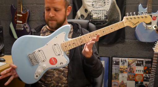 Fender Squier Jazzmaster HH Fail