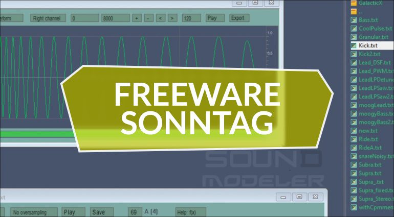 Freeware Sonntag: Sphere, L4Reverb und SoundModeler