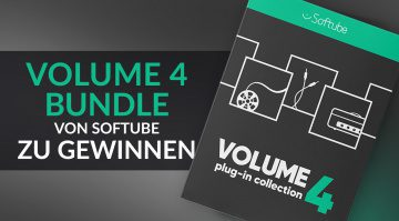Gewinnspiel: umfangreiches Volume 4 Bundle von Softube zu gewinnen!