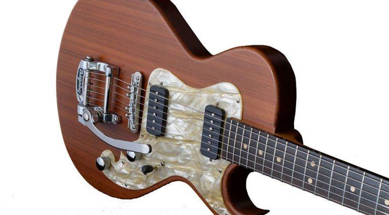 Grez Guitars Smugglers Bridge Folsom Front