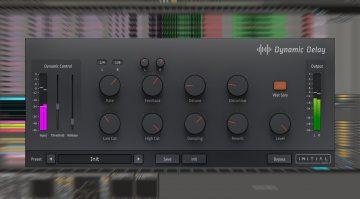Initial Audio Dynamic Delay: dieser Effekt lässt das Signal pumpen