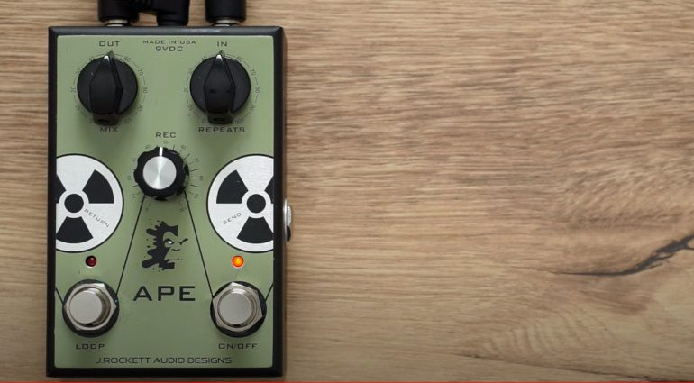 J Rockett Audio Designs APE Preamp Pedal