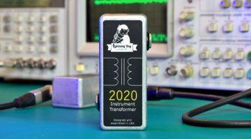Lightning Boy Audio 2020 Instrument Transformer Effekt Pedal Front