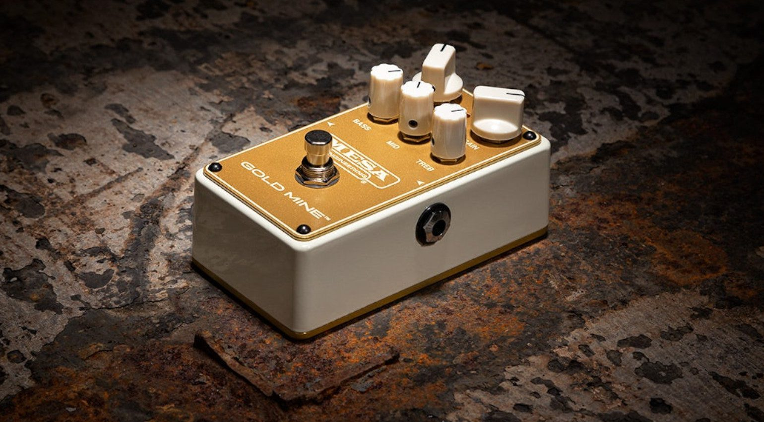 Mesa Boogie Gold Mine Overdrive Distortion Pedal