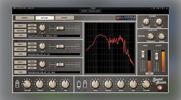 Nembrini Audio Sound Master Custom Tube Guitar Amplifier