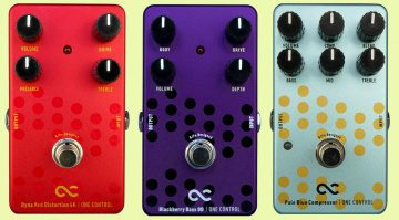 One Control BJFE Pedals