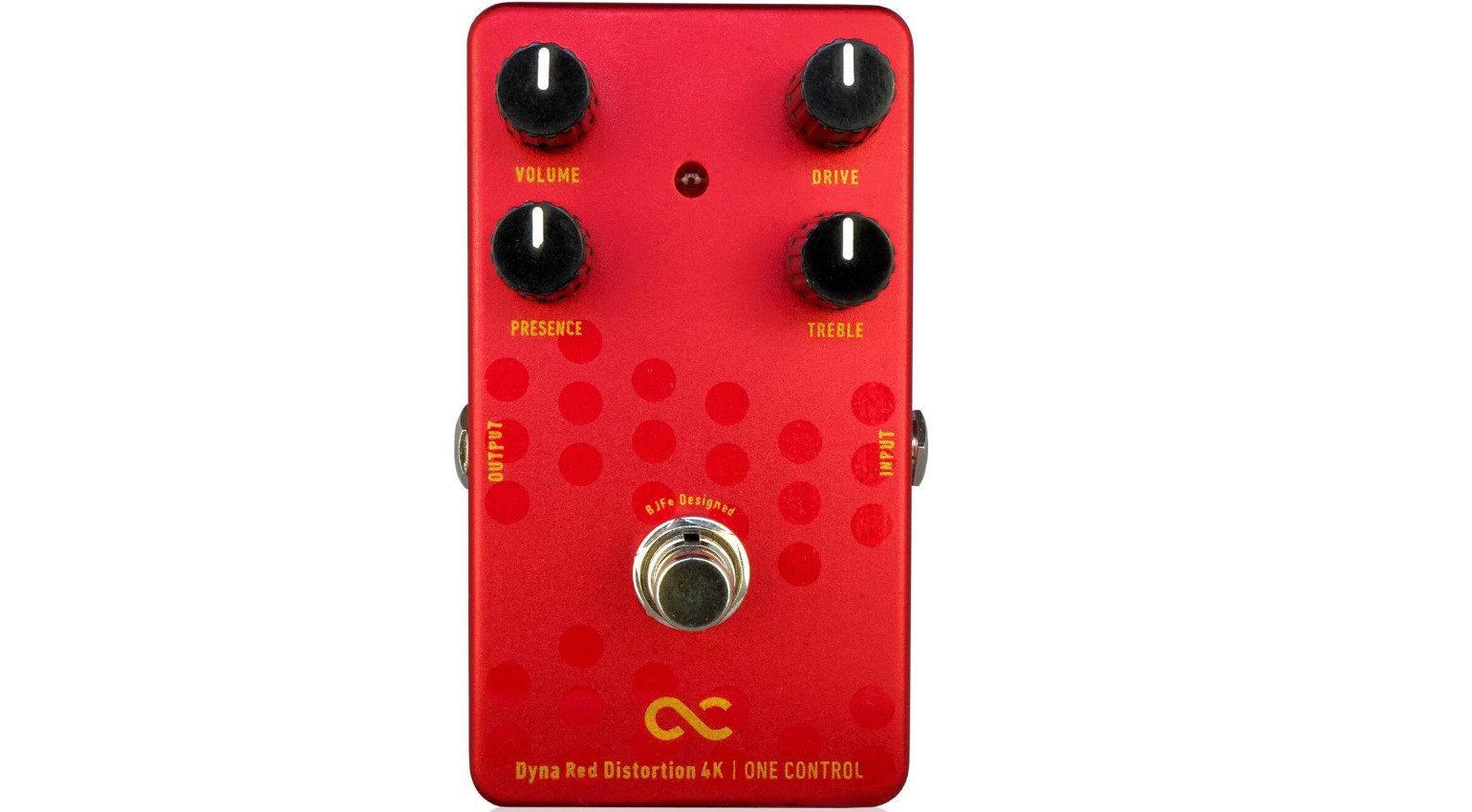 One Control BJFE Pedals Dyna Red Distortion 4K