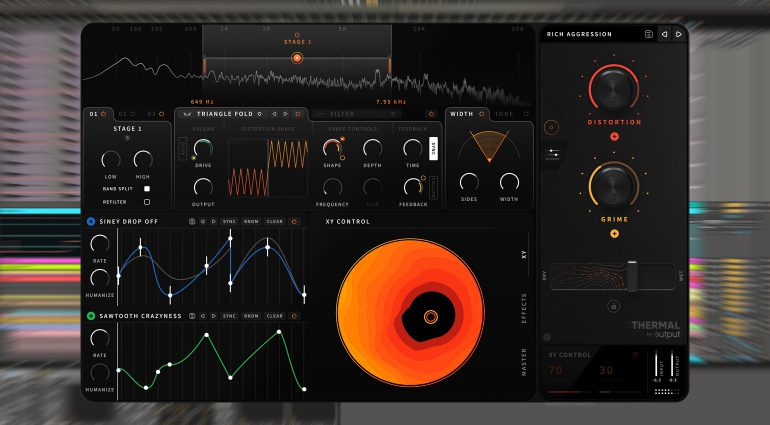 Output Thermal: Modulationsmonster im Distortion-Effekt-Plug-in