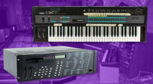 Prince DX7 und EMAX II Auktion