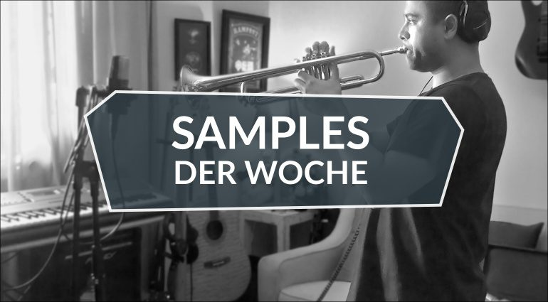 Samples der Woche: Acoustic Guitar, Vox Engine 3, Synthetic Vortices, Trumpetuba