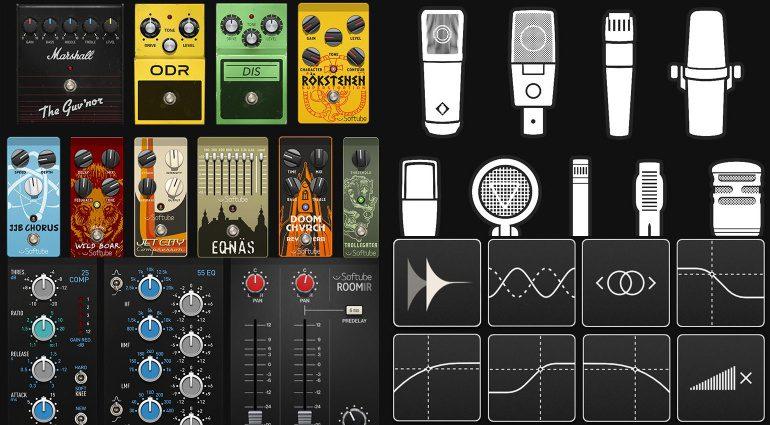 Softube veröffentlicht Amp Room und Marshall Cabinet Collection
