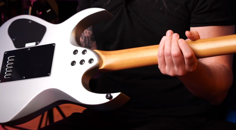 Solar Guitars Bolt On Neck Guitar Back