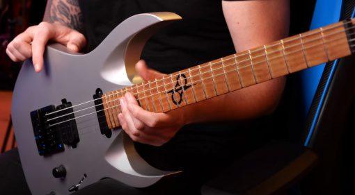 Solar Guitars Bolt On Neck Guitar Front