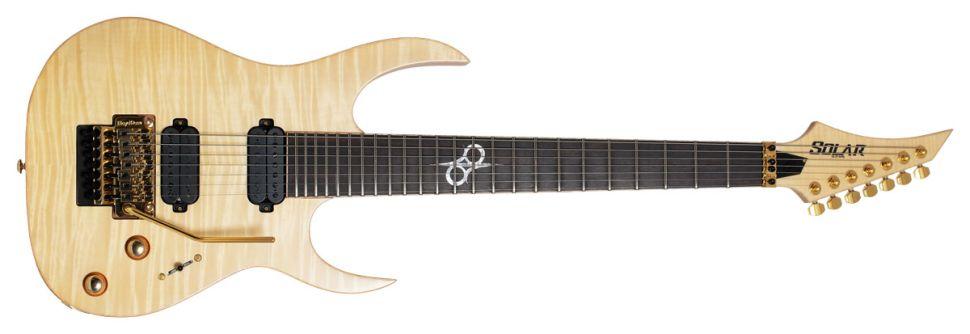Solar Guitars SB1.7FRFM seven string