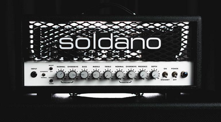 Soldano SLO-30 Topteil Amp Front