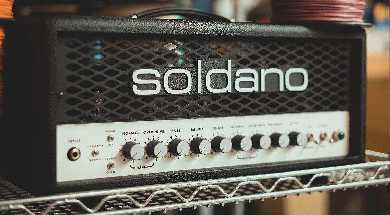 Soldano SLO-30 Topteil Amp Slant