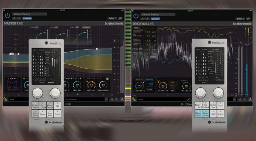 TC Electronic präsentiert Mastering HD Plug-ins mit Hardware Controller