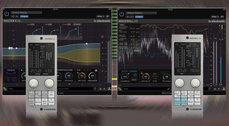 TC Electronic präsentiert Mastering HD Plug-ins mit Hardware Controller