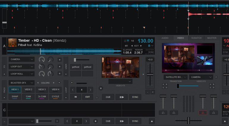 VirtualDJ 2021: neue Video und Streaming Skins