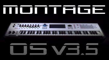 Yamaha Montage 3.5 und MODX 2.5 Updates