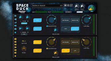 2getheraudio Space Duck: Ducking Delay und Reverb mit vielen Extras