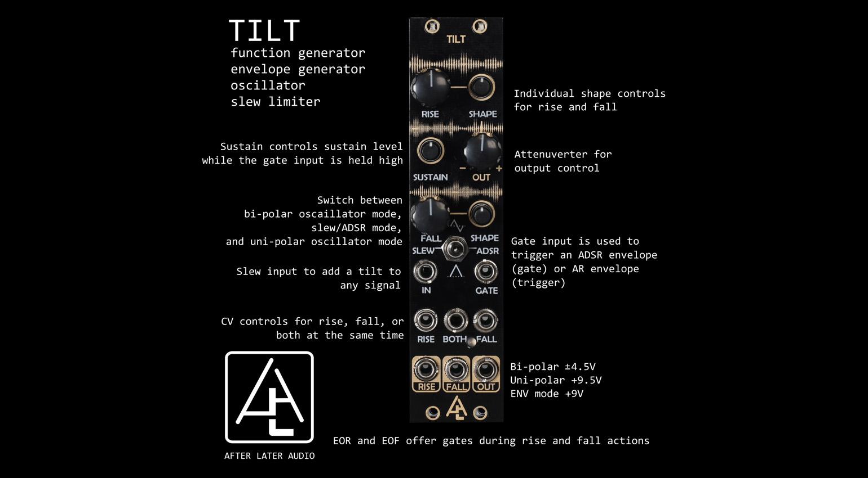 After Later Audio TILT