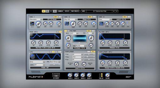 Air Music Technology Hybrid 2020 Synthesizer für 3,99 Euro
