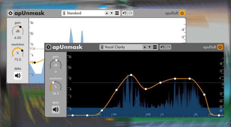 apulSoft apUnmask: psychoakustisches Mastering Plug-in findet versteckte Audiosignale