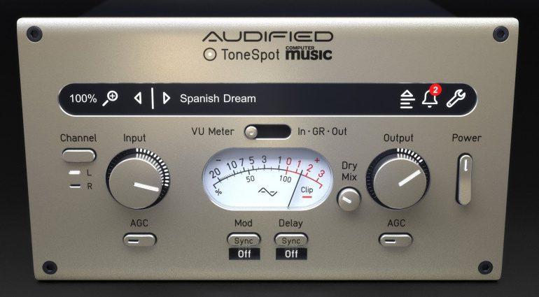 Audified ToneSpot CM: ToneSpot Express Spezial mit Computer Music Presets