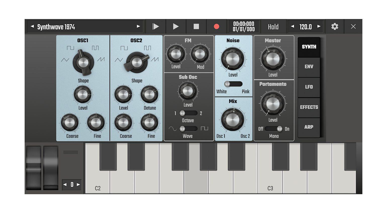 Audio Evolution Mobile Studio V5 Evolution One Synthesizer