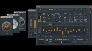 Fabricio Poce (J74) Venus6: Poly-Multi Synthesizer für Ableton Live
