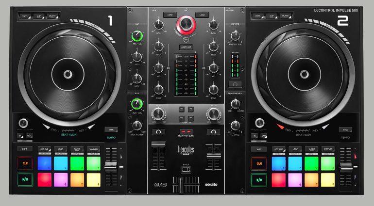 Gewinnspiel: Hercules DJControl Inpulse 500 DJ-System mit Controller und Software zu gewinnen
