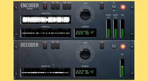 Giorgio Sancristoforo DECODER/ENCODER kann Audiodaten in euren Songs verstecken