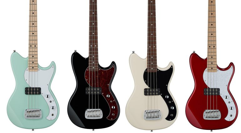 G&L Tribute Fallout Shortscale Bass Front