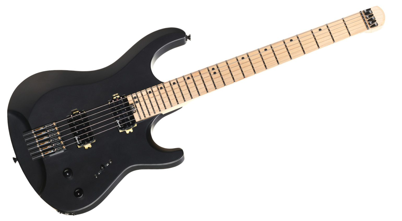 Harley Benton Dullahan-FT 24 BKS E-Gitarre Front