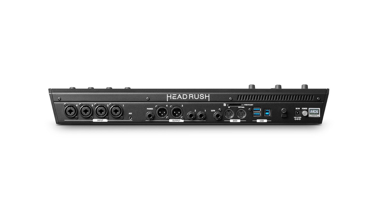 Headrush Looperboard Firmware 2 Rueckseite