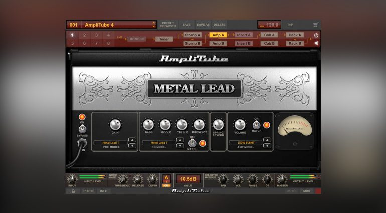 IK Multimedia AmpliTube Metal Collection