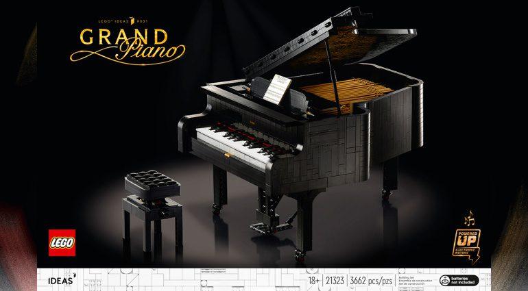 Ein Grand Piano aus 3662 Lego-Steinen: Spiel, Spaß und viel Musik