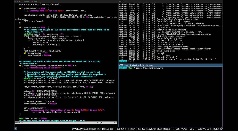 Linux i3