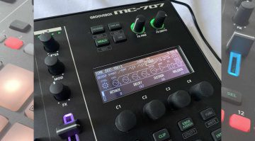 MC707 Display Soundeditor