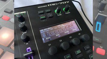 MC707 Display Soundeditor