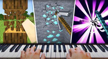 Minecraft per MIDI-Keyboard steuern