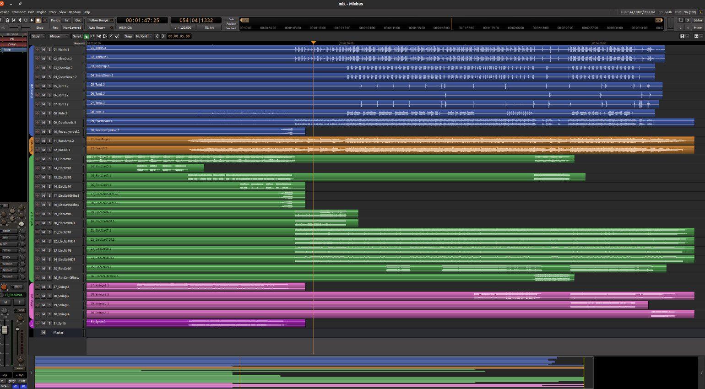 Mixbus 6 Editor Ubuntu