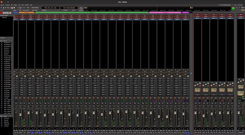 Mixbus 6 Mixer Ubuntu