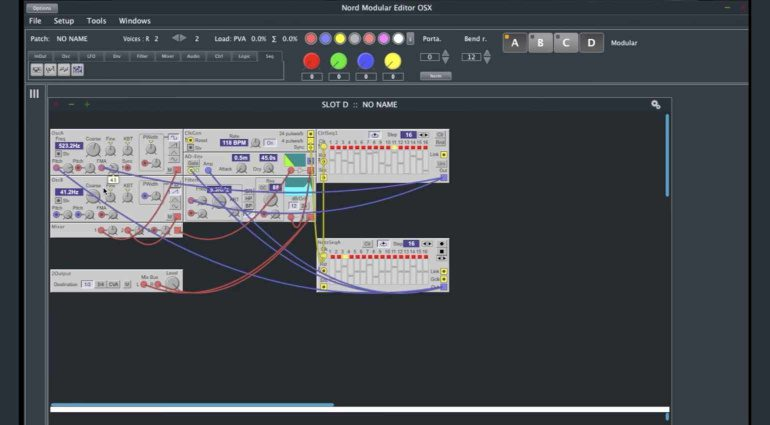 Nord Modular Editor